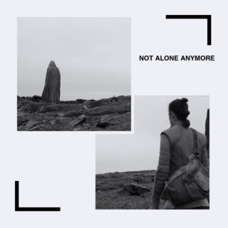Not Alone Anymore: A Rey & Luke mix