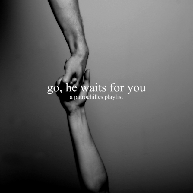 Go, he waits for you