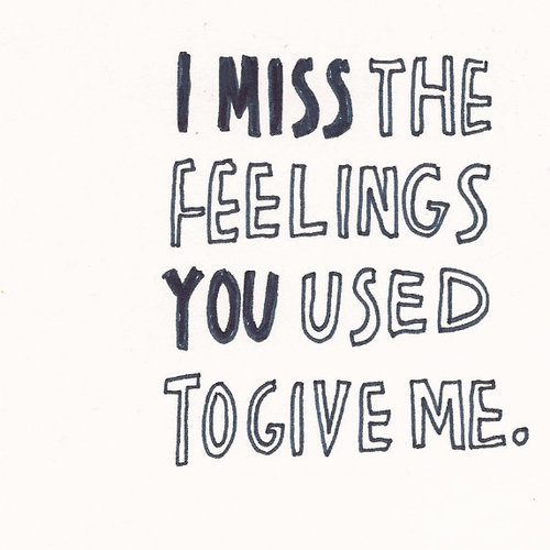 How I Used To Love You