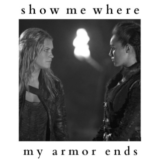 show me where my armor ends
