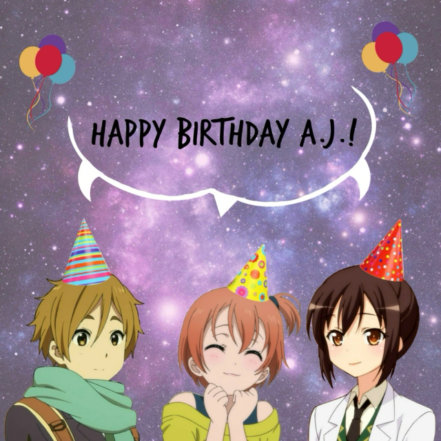 8tracks Radio Happy Birthday Aj 17 Songs Free And Music