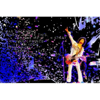 Prince .... music lives with you