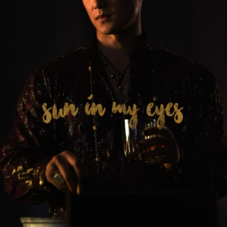 sun in my eyes