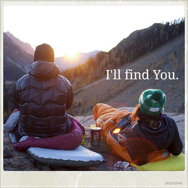 I'll find You.