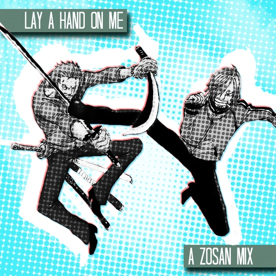 lay a hand on me