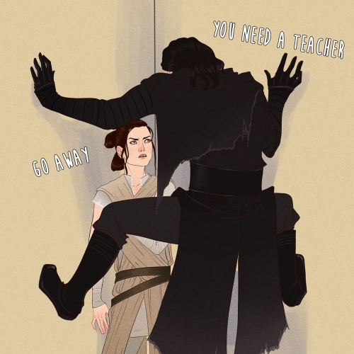 When J.J. Com Home And Make Hte Reylo Canon Ep II
