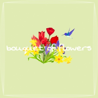 ✾ bouquet of flowers ✾