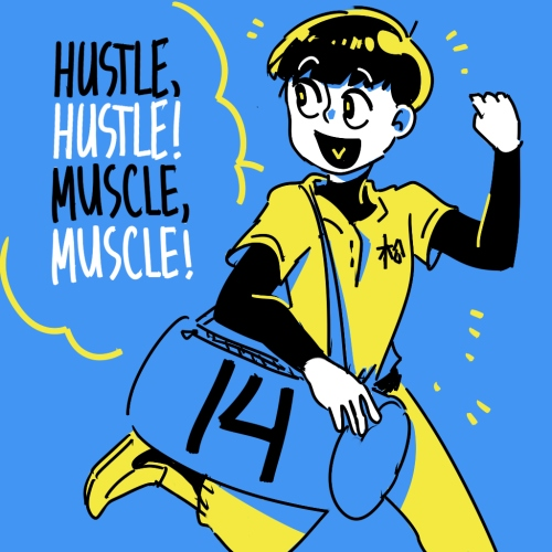 hustle your muscles