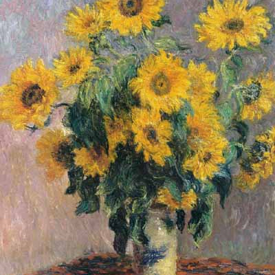 sunflowers at a funeral