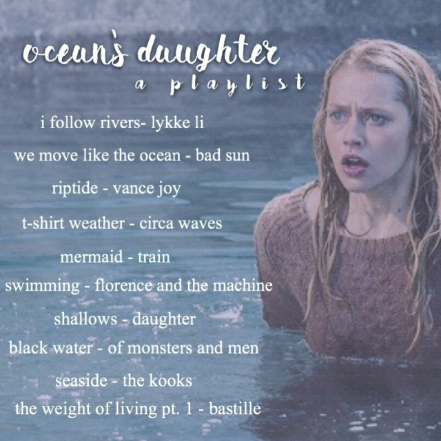 ocean's daughter - a playlist