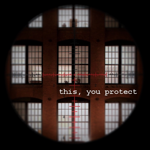 this, you protect