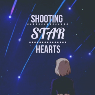 shooting star hearts *・°☆