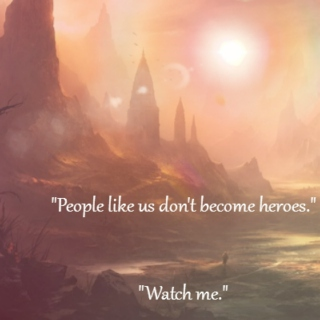   people like us don't become heroes  