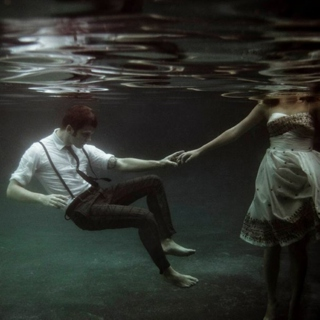 like you're the ocean and he's desperate to drown