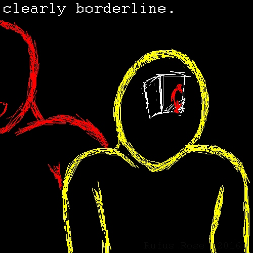 clearly borderine.