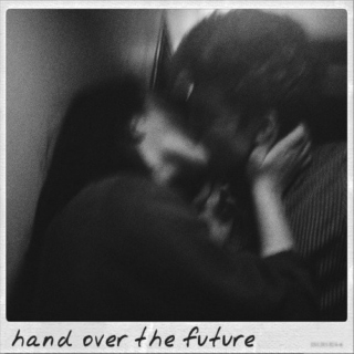 hand over the future