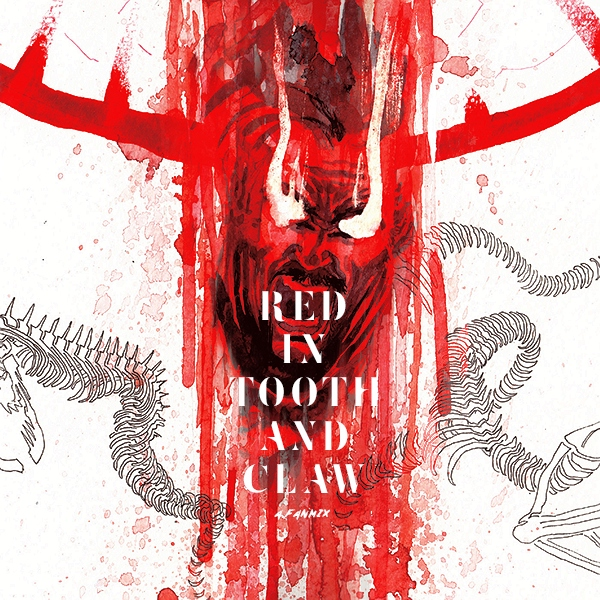 red in tooth and claw.