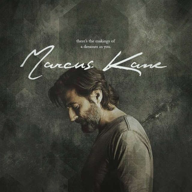 there's the makings of a dreamer in you: marcus kane.