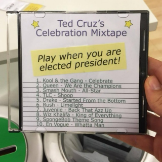 Ted Cruz's Celebration Mixtape