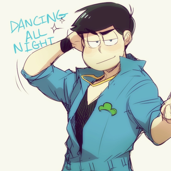 *dabs for the karamatsu girls*