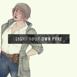 light your own pyre (a mix for maria palmer)