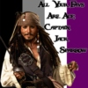 All Your Favs Are Ace: Captain Jack Sparrow