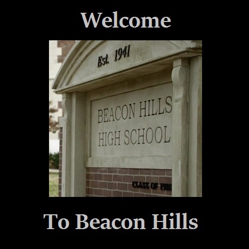 Welcome to Beacon Hills