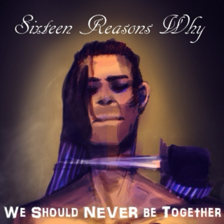 Sixteen Reasons Why (We Should Never be Together)