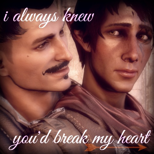 The Man I Love { A Dorian/Inquisitor Fanmix }