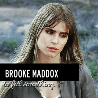 brooke maddox | to feel something.