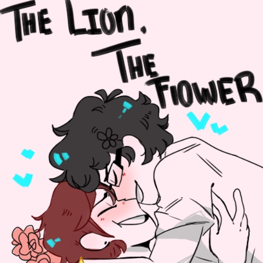 The lion, The flower
