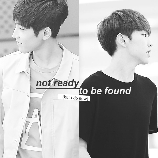 not ready to be found (but i do now)