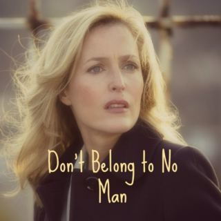 Don't Belong to No Man | A Stella Gibson Fanmix