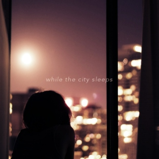 ☽while the city sleeps☾