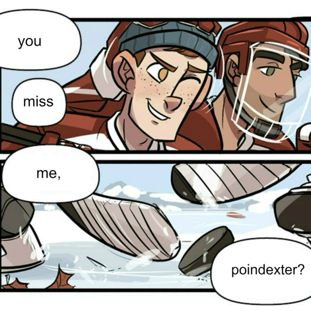 you miss me, poindexter?