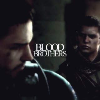 BLOOD BROTHERS.