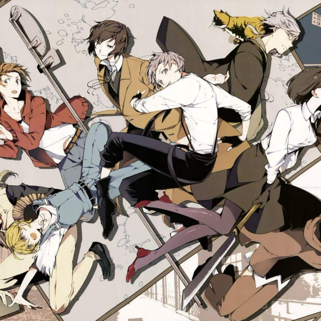14+1 Songs that summarizes Bungou Stray Dogs S1