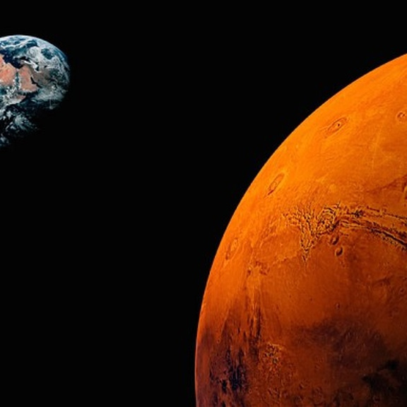 From earth to the Mars