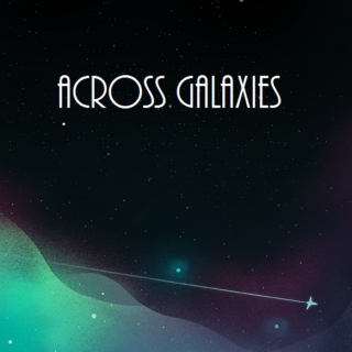across galaxies