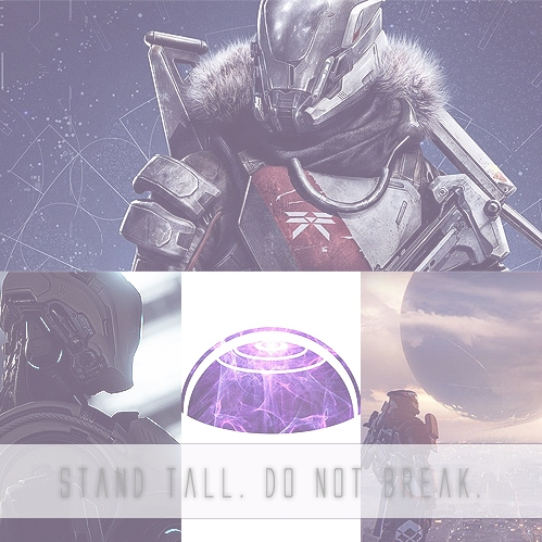 stand tall. do not break. [Gil]