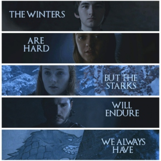 Winter Belongs to the Wolves.