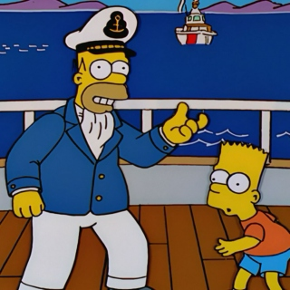 Mr Burns' Yacht...