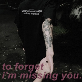 to forget i'm missing you. (prokopinsky)
