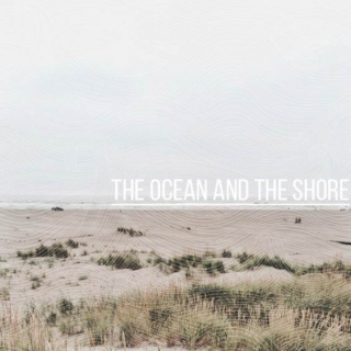 the ocean and the shore