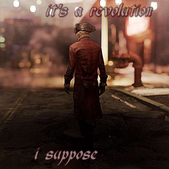 it's a revolution, i suppose