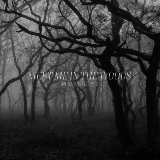 MEET ME IN THE WOODS: an uprooted mix