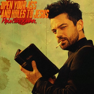 """""""Open your ass and holes to jesus,"""""""