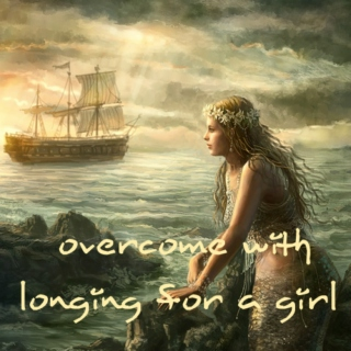 overcome with longing for a girl