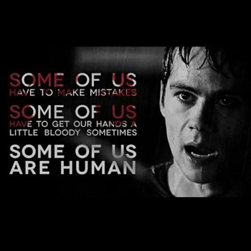 Teen wolf stiles love quotes