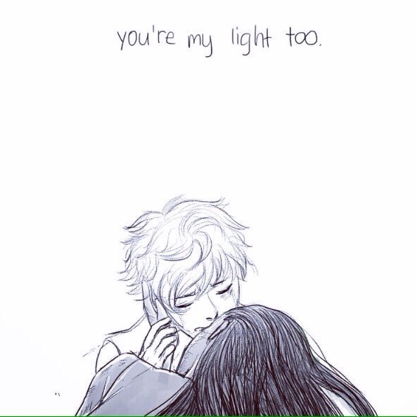 you're my light, too